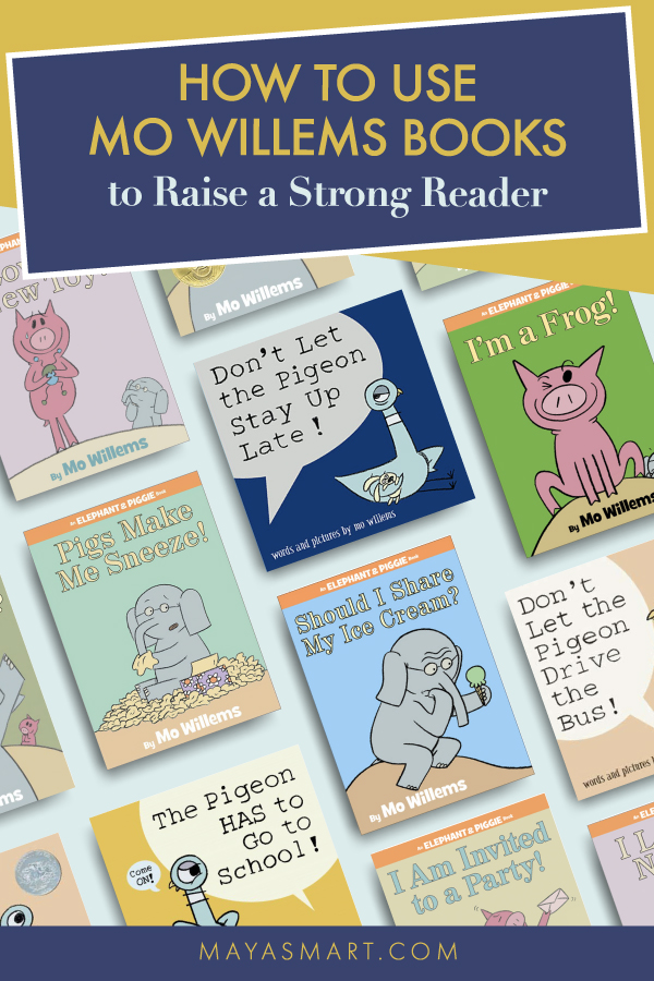 Mo Willems How to Raise a Strong Reader pin