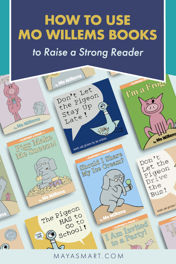Mo Willems How to Raise a Strong Reader pin 2